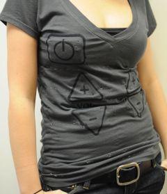 T-Shirt Fernbedienung